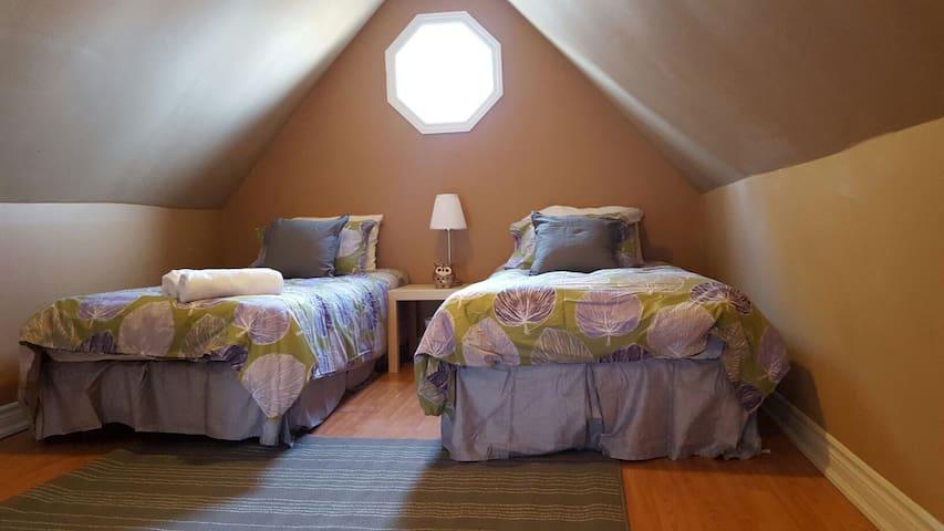 Up to 4 person bedroom near Falls! - Cataratas do Niágara - Apartamento