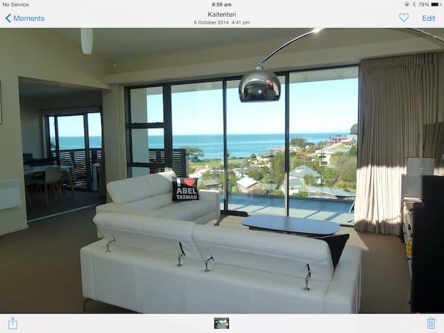 Luxury apartment ,spas,sauna,pool. - Kaiteriteri - Appartement