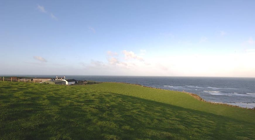 Seascape, a cliff top farm, Kintyre, Scotland - Bellochantuy - Appartement