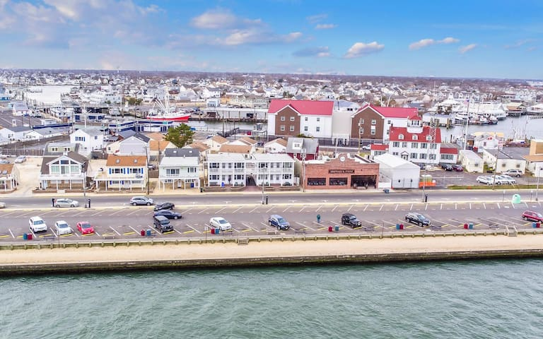 New, Clean, Furnished with Great Inlet Views4 - Point Pleasant Beach - Daire