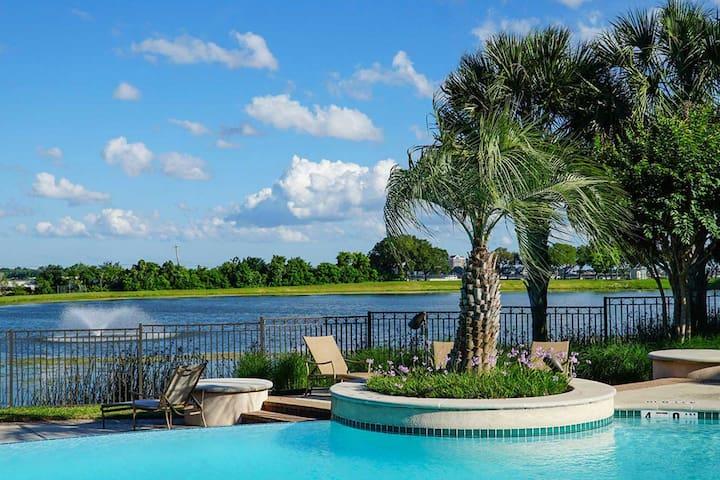 Lovely Villa-style apt. next to NASA Space Center - Houston - Departamento