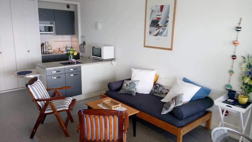 Pleine vue mer - 孔卡爾諾(Concarneau) - 公寓