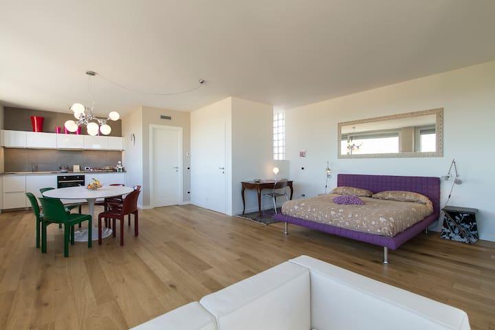Stylish loft close to Expo&Malpensa - Santo Stefano Ticino - Bed & Breakfast
