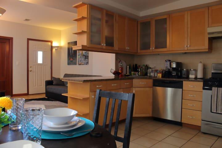 Cozy apartment in Newark close to Manhattan - Newark - 公寓