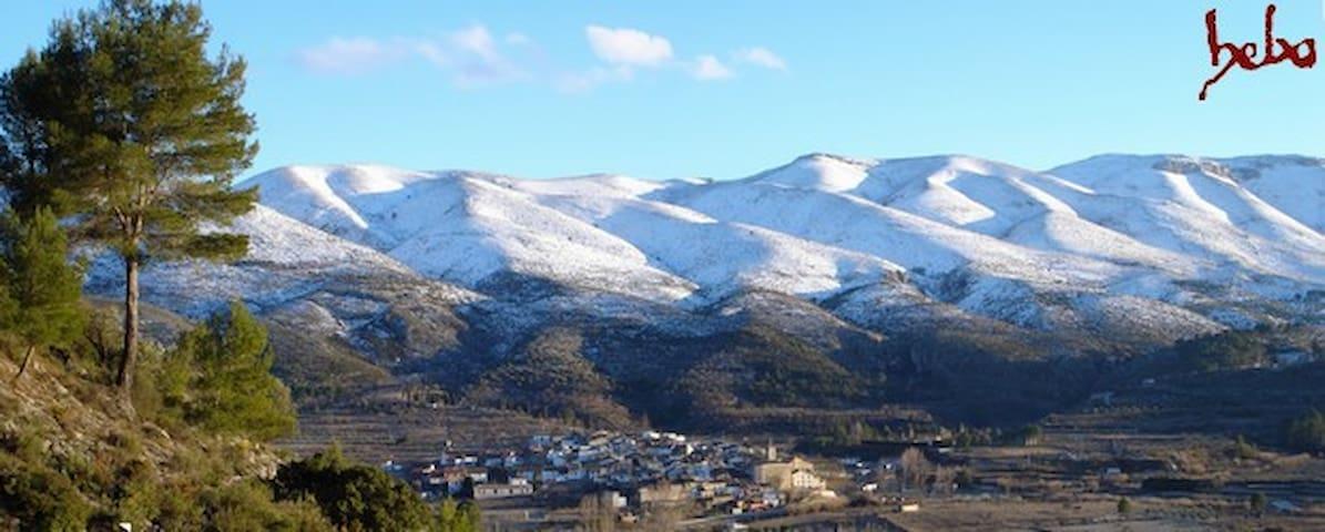 Casa pueblo en montaña de Alicante - La Vall d'Ebo - Hus