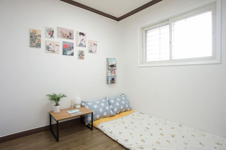 Cozy and clean room at Migeum Station - Bundang-gu, Seongnam-si - Huoneisto