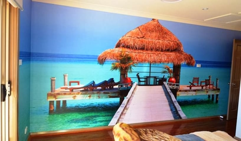 Bali inspired Bed Room with Ensuite - Sydney - Bed & Breakfast
