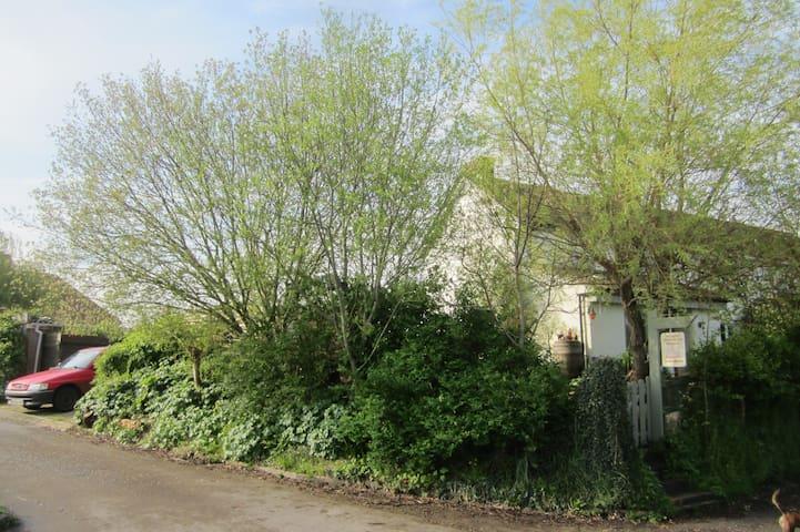 Cosy double room with country views - Hambridge, Langport - Hus