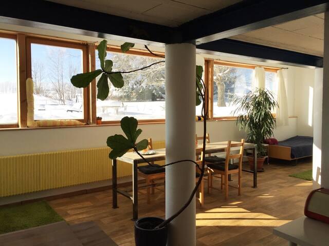 Nice bright studio, Switzerland - Saignelégier - Loft