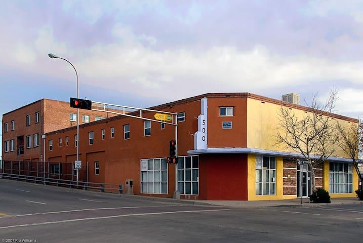 Historic Apartment in Arts Building - Albuquerque - Pis