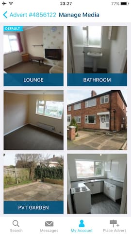 Large 1 Bed Apartment, Leicester - Thurmaston - Квартира