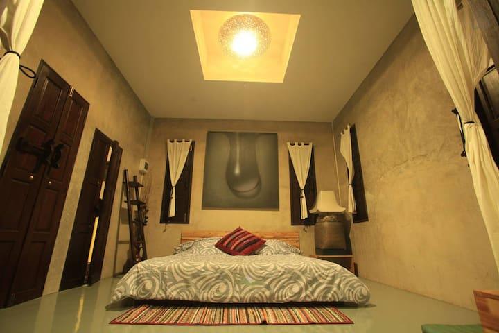 Aom-Poi Room - Double bed, Farm view In Chiang Mai - Chiang Mai - Tatil evi