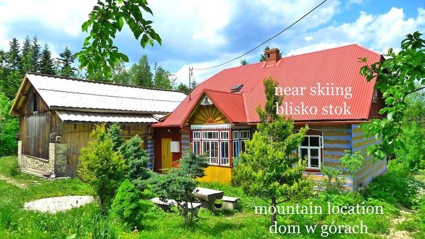 Dom drewniany z Bali - Zawoja x7 - Skawica - Maison