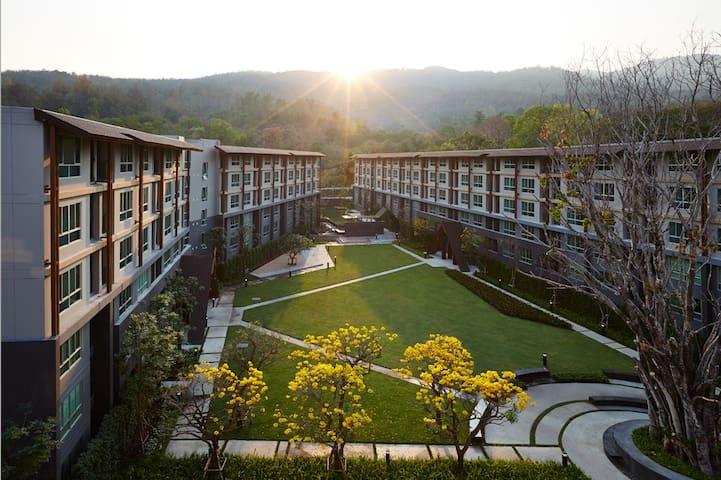 Beautiful quiet Condo DoiSutep view - Chiang Mai - Huoneisto
