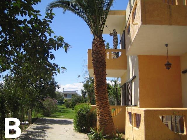 Nerantza, 50m from beach, 1bdr apt - Nerantza - Appartement