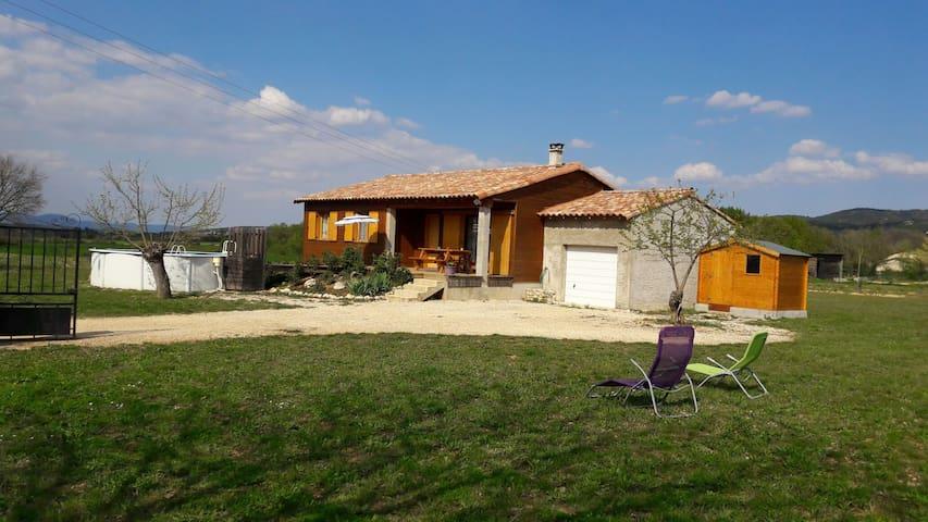 Holiday home, season rental at Brouzet les Alès - Brouzet-lès-Alès - Casa