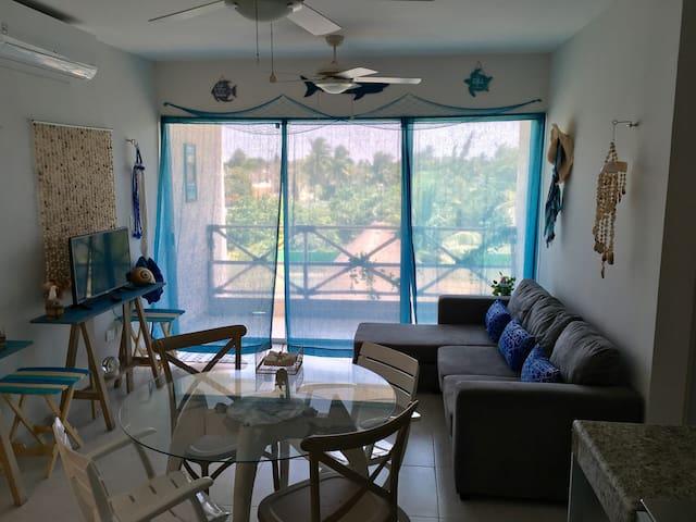Small condo, all you need. Cute, Comfy, Functional - 普羅格雷索(Progreso) - 公寓