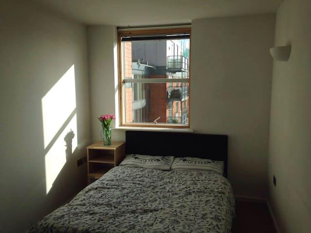 Lovely double ensuite room in City centre - Λιντς - Διαμέρισμα