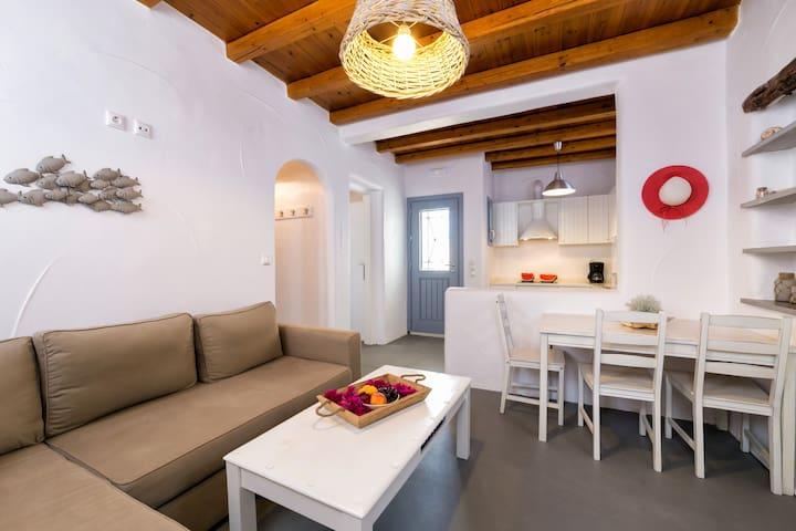 Porfyro apartment-Aegean Colors Koufonisia Houses - Koufonisia - Departamento