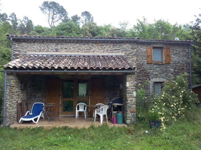 maison de charme dans  parc national des Cévennes - Chamborigaud - Casa