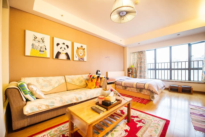 Ki's House/正地铁口带厨卫高档公寓温馨小窝 - 长沙 - Appartement