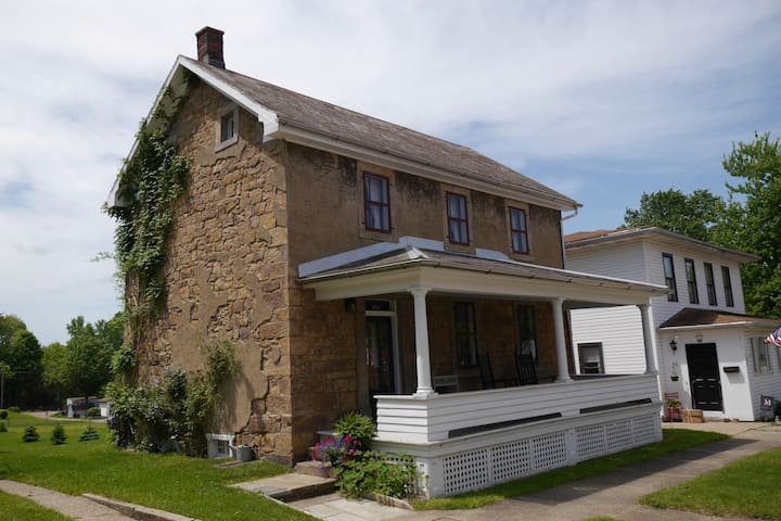 Trailside Living in 1846 Stone House Charm - Navarre