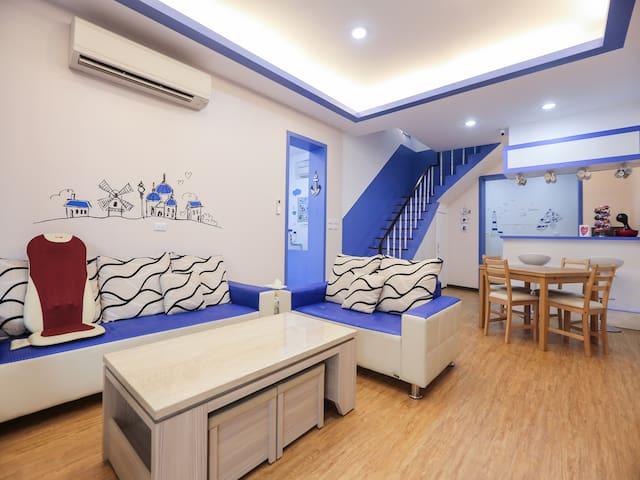 背包客房的兩個床位(6人房或8人房) - TW - Minsu (Taiwan)