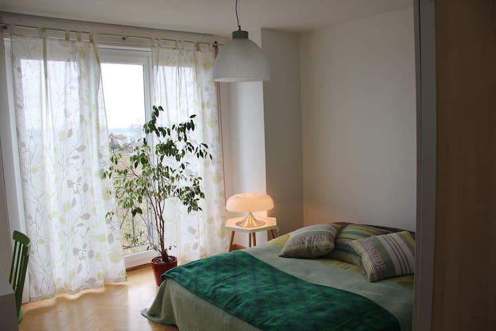 1 à 3 chambres calme et nature - Hauterive - 一軒家