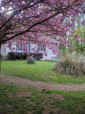 Maison de campagne au calme - Saint-Lubin-des-Joncherets - Huis