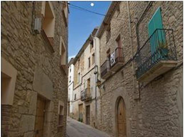 Casa tradicional de piedra. - Rocafort de Queralt - Dom wakacyjny