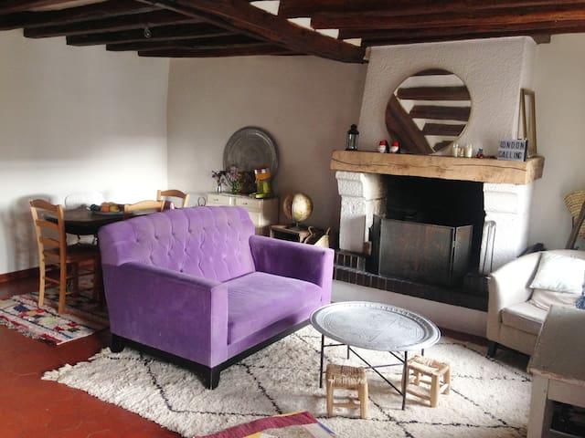 Appartement  de charme, vallée d'Eure - Ménilles - Appartement