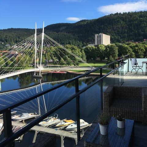 3 BEDROOMS APP. IN DRAMMEN, UNION, FANTASTIC VIEW - Drammen
