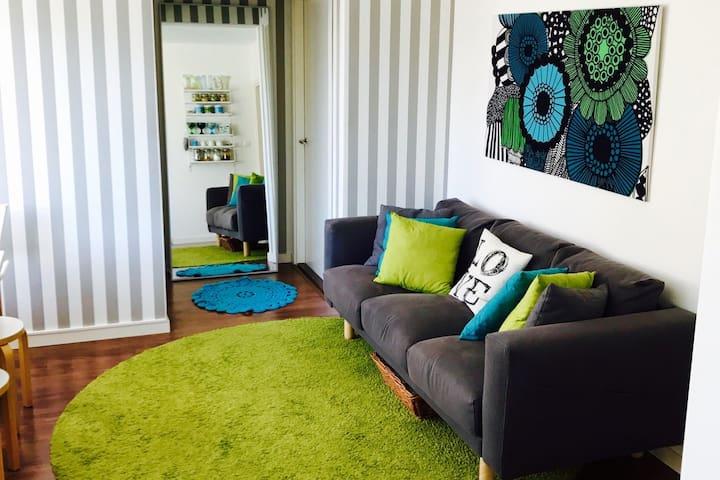 Modern & cosy apartment + garage - Turku - Appartamento
