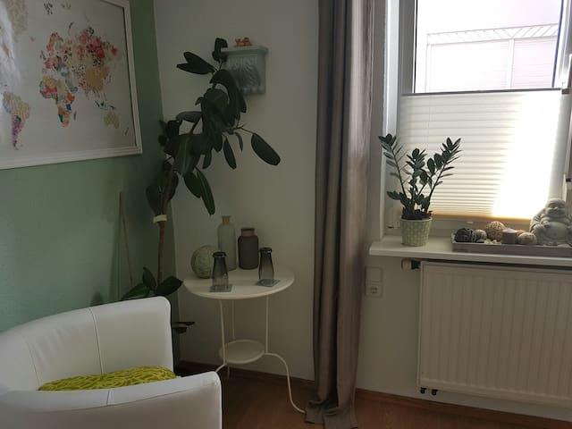 zentrales Zimmer 2 min zum See und in die Stadt - Friedrichshafen - Leilighet