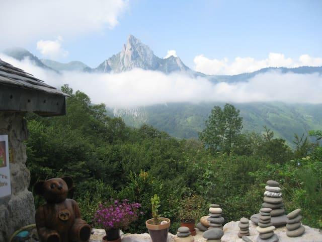gîte de montagne en vallée d'Aspe - Etsaut - Rumah