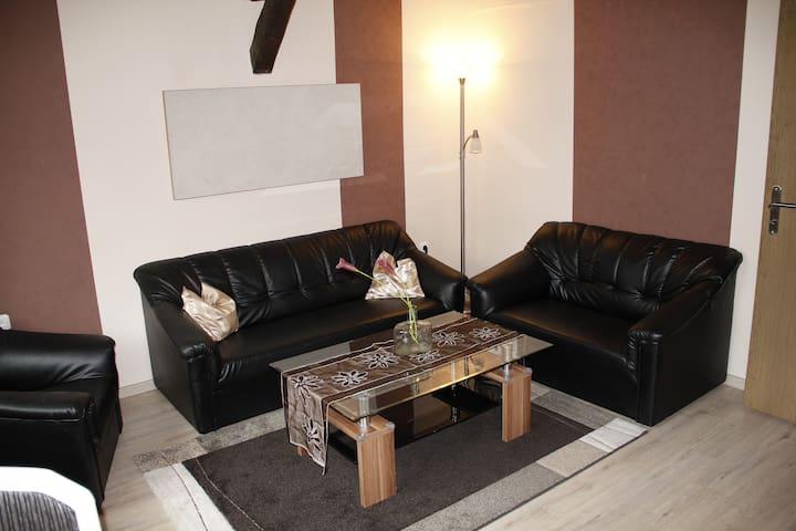 Ferienwohnung ruhig, Zentrums nah - Gunzenhausen - Appartement