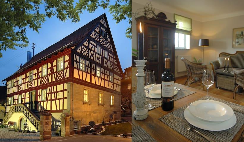 Haus Christiansn - Erholung in den Haßbergen - Aidhausen - Appartement