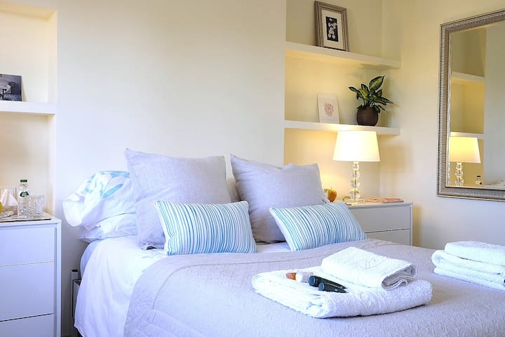 Tranquilo, habitación doble luz con baño privado - Palma - Casa