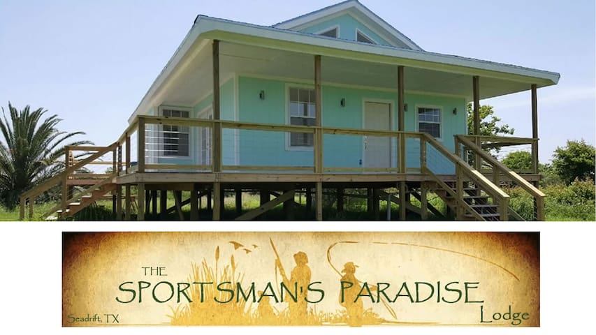Sportsman's Paradise Lodge - Seadrift - Hus