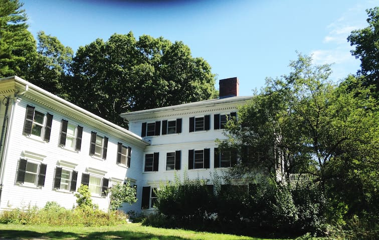 """Apt in wing of Historic """"Justice Haskell"""" Home - Ipswich"""