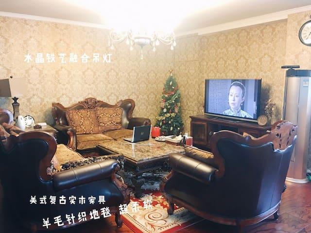 中央大街街景房,200平米,靠近索菲亚教堂,商圈交通便利 24小时安保 - 哈尔滨 - Appartement