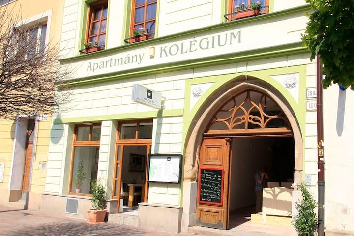 Kolegium Apartments - Prešov - Egen ingång