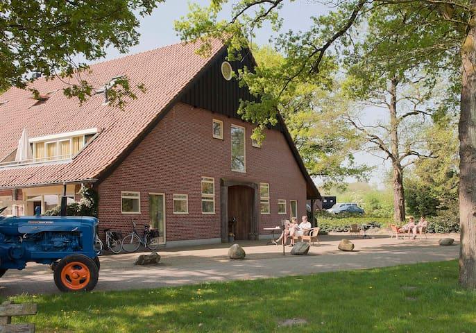 Uniek landgoed in de natuur nabij Ootmarsum - Hezingen - Apartmen
