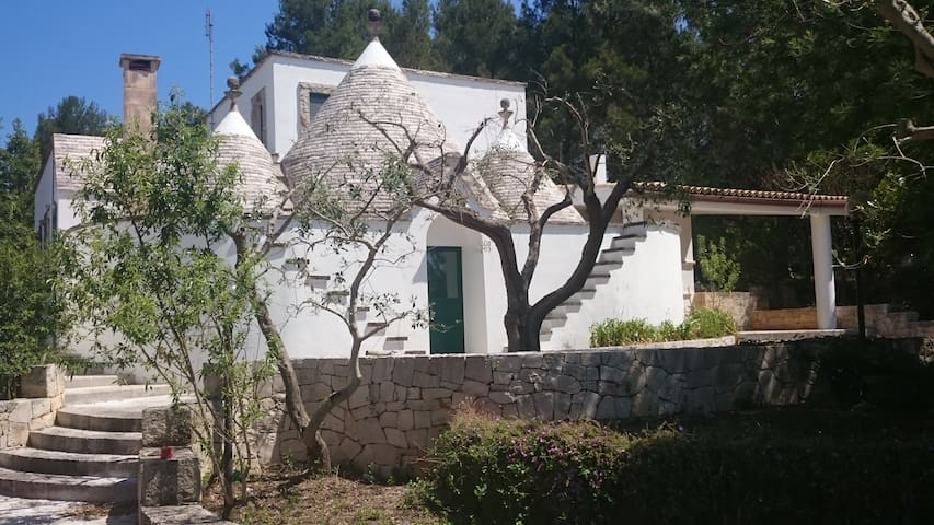 House with trulli in the woods - Putignano - Villa