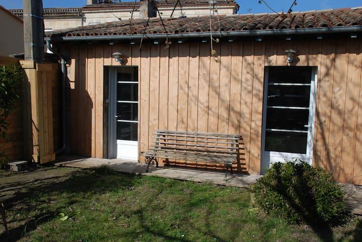 Studio aux Portes du Médoc et proche de Bordeaux - Macau - Apartament
