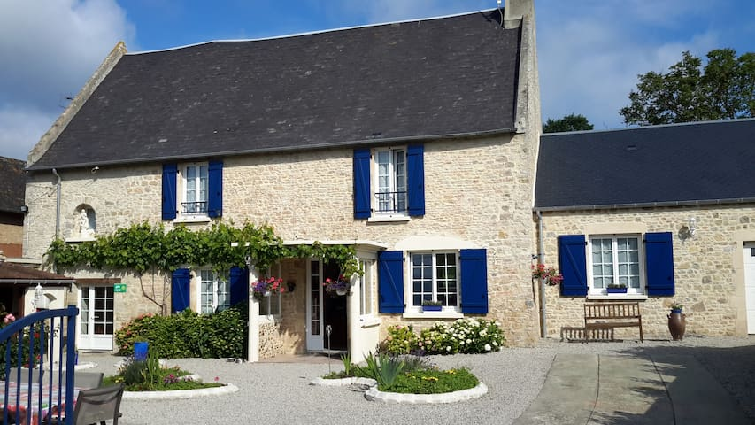 Chambres d'hôtes à Isigny s/mer - Isigny-sur-Mer - Bed & Breakfast