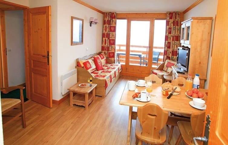 Appartement cosy avec piscine - Valloire - Huoneisto
