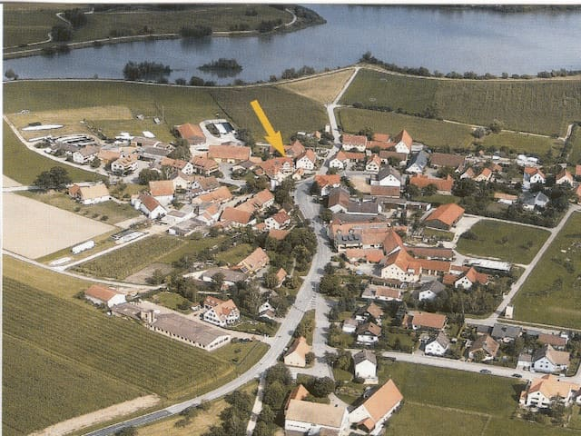 Ferienwohnung zur Schmiede direkt am Altmühlsee - Gunzenhausen - Leilighet