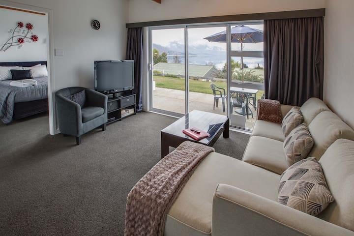 Cosy Apartment, amazing view,  Free wifi, sleeps 5 - Wanaka - Leilighet