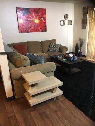 Large comfy living room - Sacramento - Wohnung